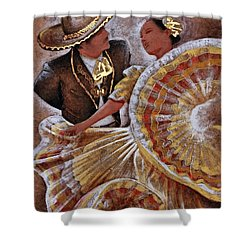 Jarabe Tapatio Dance Shower Curtain