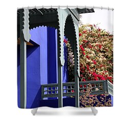 Shower Curtain featuring the photograph Jardin Majorelle 3 by Andrew Fare