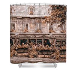 Jardin Nelson - Vintage Image Shower Curtain