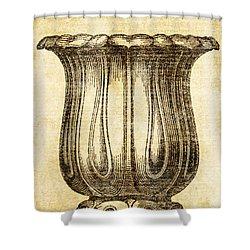 Jardiniere 02 Shower Curtain
