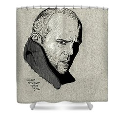 Jason Statham Shower Curtain