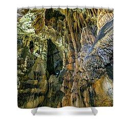 Jasovska Cave, Jasov, Slovakia Shower Curtain