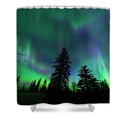 Jasper National Park Aurora Shower Curtain