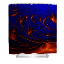 Javaturing Shower Curtain