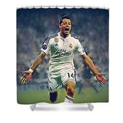 Javier Hernandez Balcazar Shower Curtain