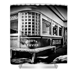 Jax Diner, Truckee Shower Curtain by Vinnie Oakes