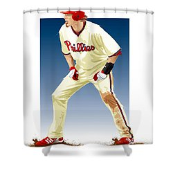 Jayson Werth Shower Curtain