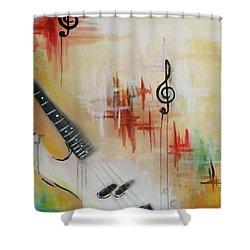 Jazz 001 Shower Curtain