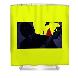Jazz 12 Shower Curtain