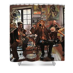 Jazz A 7 Shower Curtain