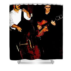 Jazz Musicians Shower Curtain