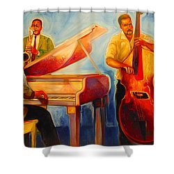 Jazz Night Shower Curtain