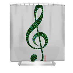 Jazz T Shower Curtain
