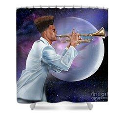 Jazz Universe Shower Curtain