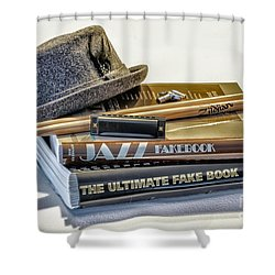 Shower Curtain featuring the photograph Jazz by Walt Foegelle