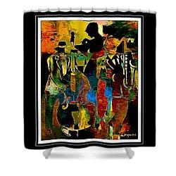 Jazzy Diva 2 Shower Curtain by Lynda Payton
