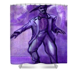 Jazzy Shower Curtain by Kevin Middleton