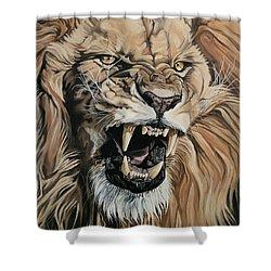 Jealous Roar Shower Curtain