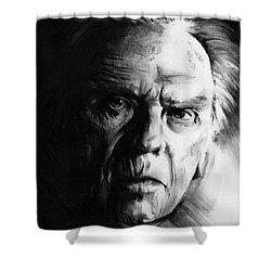 Jean-louis Trintignant Shower Curtain