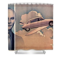 Jean Marais / Fantomas 1964 Shower Curtain