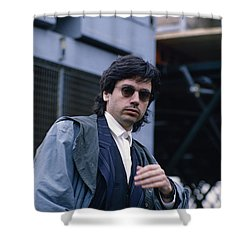 Jean Michel Jarre Shower Curtain