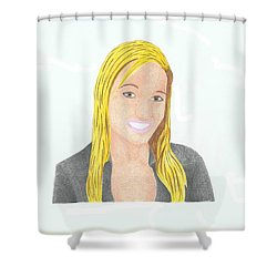 Jeana Smith - Pvp Shower Curtain