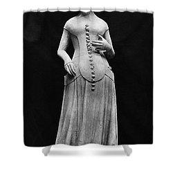 Jeanne II Dauvergne Shower Curtain by Granger