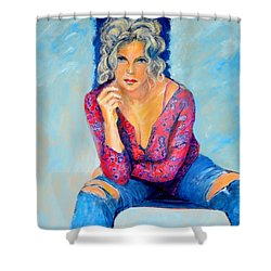 Jeans II Shower Curtain