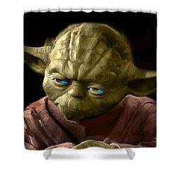 Jedi Yoda Shower Curtain