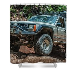 Jeep Cherokee Shower Curtain