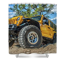 Jeep Life Shower Curtain