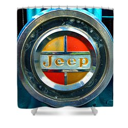 Jeep Logo 192 Shower Curtain