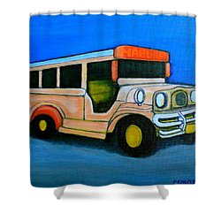 Jeepney Shower Curtain