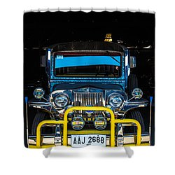 Jeepney, Manila Shower Curtain