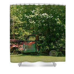 Jeferson Landing Series No.2 Shower Curtain by Laura DAddona