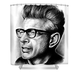 Jeff Goldblum Shower Curtain