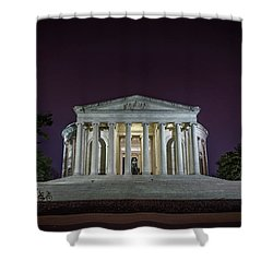 Jefferson At Night Shower Curtain