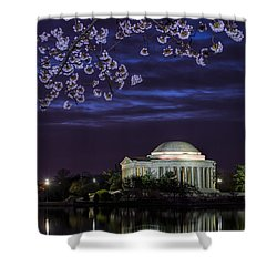 Jefferson Cherry Sunrise Shower Curtain