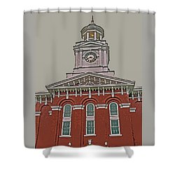 Jefferson County Courthouse Shower Curtain