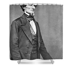 Jefferson Davis Shower Curtain by American Photographer