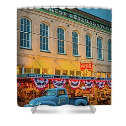 Jefferson General Store Shower Curtain by Inge Johnsson