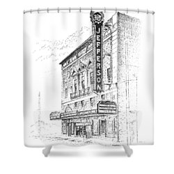 Jefferson Theatre Shower Curtain