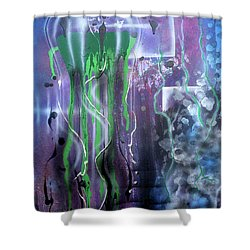 Jelly Shower Curtain