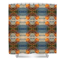 Jellyfish Pattern Shower Curtain