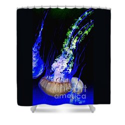 Shower Curtain featuring the photograph Jellypower by Vanessa Palomino