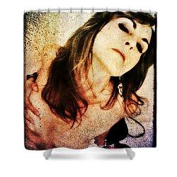 Jenn 2 Shower Curtain by Mark Baranowski