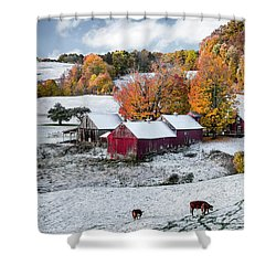 Jenne Farm, Reading, Vt Shower Curtain