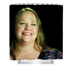 Jennifer Harell Lopez Shower Curtain