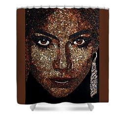 Jennifer Lopez Shower Curtain