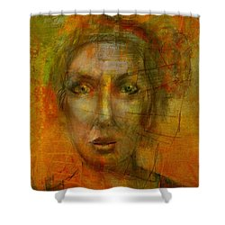 Jenny Shower Curtain by Jim Vance